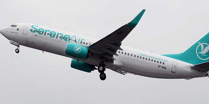 Serene Air Service Started in Pakistan